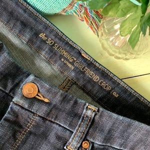 Chico's So Slimming Girlfriend Crop Jeans